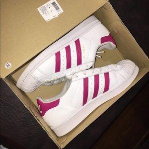 Adidas shell toe shoes